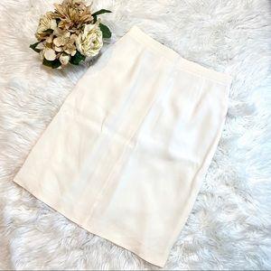 Giorgio Armani Le Collezzioni Silk Blend Skirt
